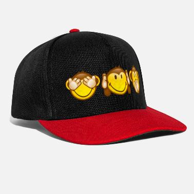 First Day Of School SmileyWorld Three Mystic Apes - Snapback Cap