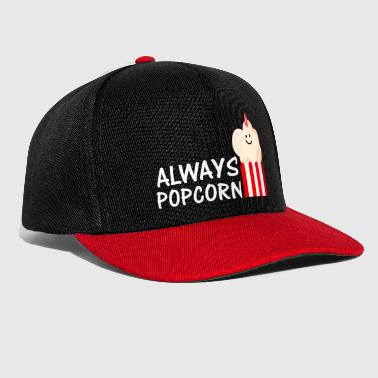 Unicorn Always Popcorn (a) - Snapback Cap