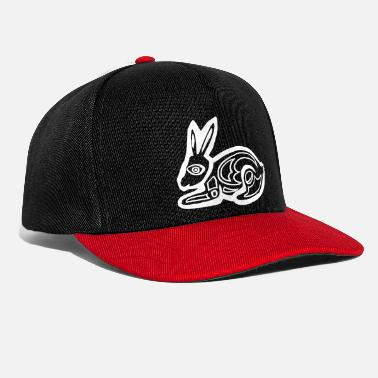 Graphic Art Bunny bunny graphic art - Snapback Cap