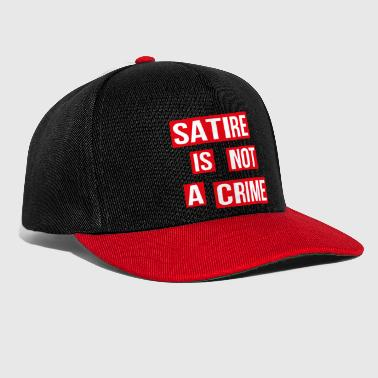 Satire Is Not A Crime - Snapback Cap