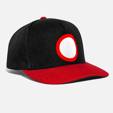 Traffic Sign Traffic sign ban red white - Snapback Cap
