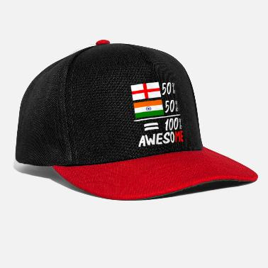 Half Life Half English Half Indian - Snapback Cap