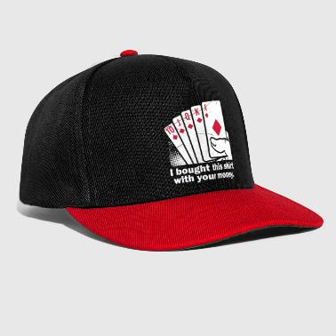 Bought With Your Money Poker - Snapback Cap
