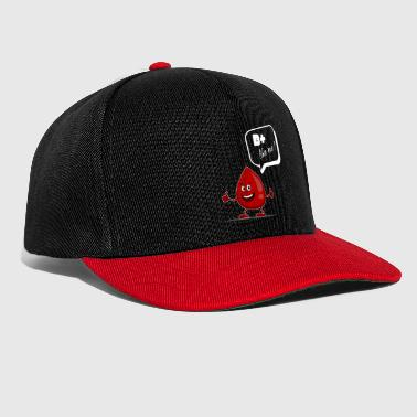 B positive as I blood drops blood donor optimist - Snapback Cap