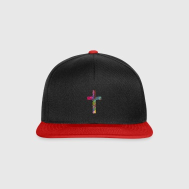Croix Stained - Casquette snapback
