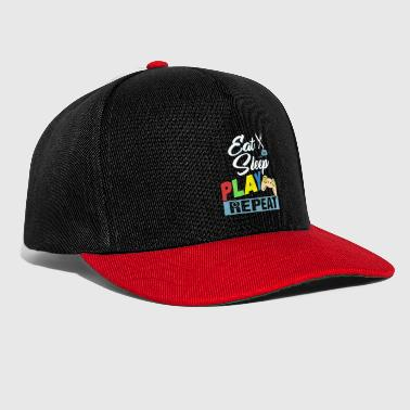 Eat Sleep Play Repeat - Gorra Snapback
