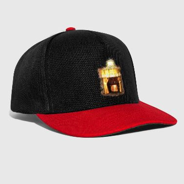 Gypsy fortune teller brightly glowing - Snapback Cap