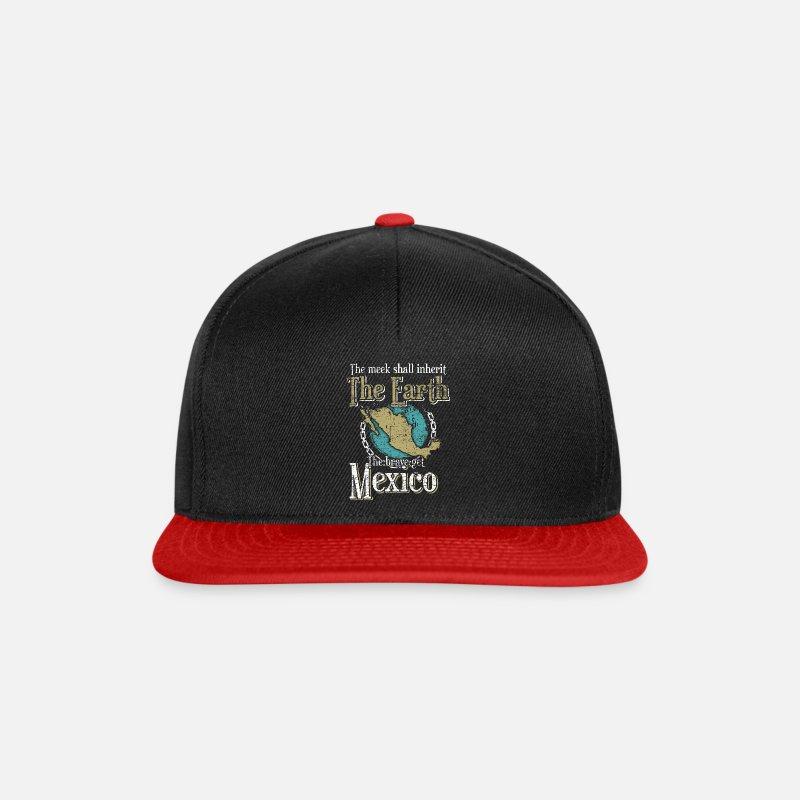 3fa77a447ed7f Sombrero Gorras y gorros - México - Gorra snapback negro  rojo