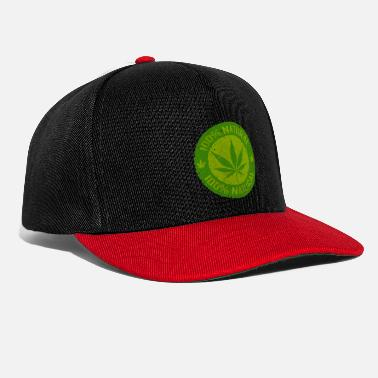 Hamppu Weed 100% Natural - Snapback Cap