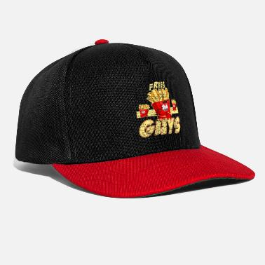 French fries guy fast food gift potato - Snapback Cap