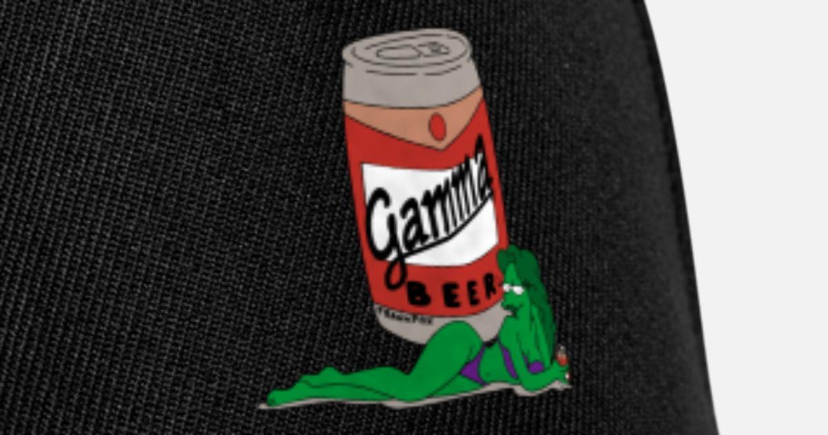 Gamma beer gif Gorra Snapback  b42f76570d9