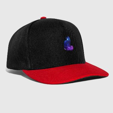 Maine Coone Cat Galaxy Universe Gift - Snapbackkeps