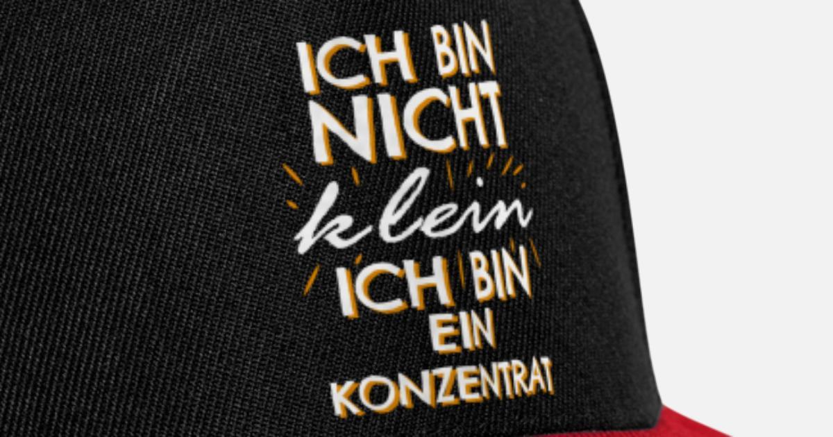 Witziger Lustiger Spruch Geschwister Geschenk Snapback Cap Spreadshirt