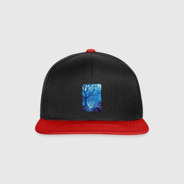 underwater aquarium sea fish lake coral - Snapback Cap