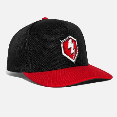 World World Of Tanks Blitz 8 Bit Pixelated Logo - Snapback Cap