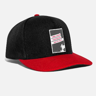 Three Arrows Pointed Down To The Left 3 - Snapback Cap