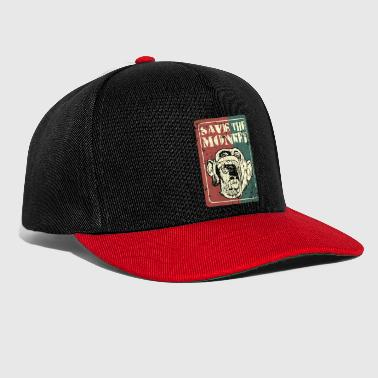 Save the monkey - Snapback Cap