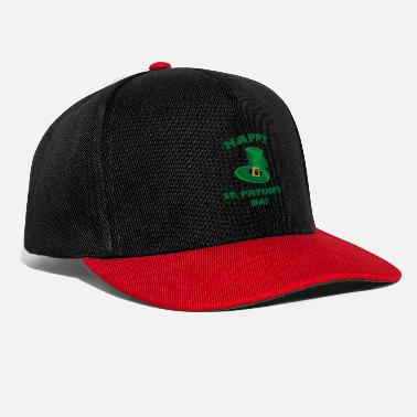 St Patricks Day Happy St Patrick's Day - Czapka typu snapback
