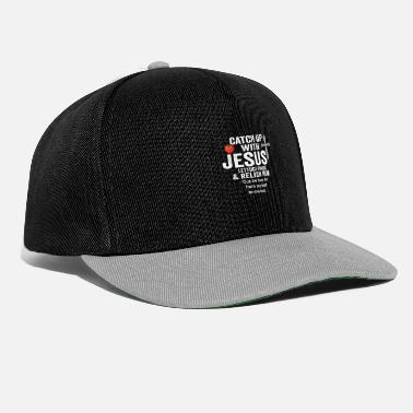 Relish CATCH UP WITH JESUS LETTUCE PRAISE & RELISH HIM - Snapback Cap