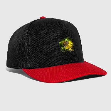 Badger Bees pollinate plants and produce sweet honey - Snapback Cap