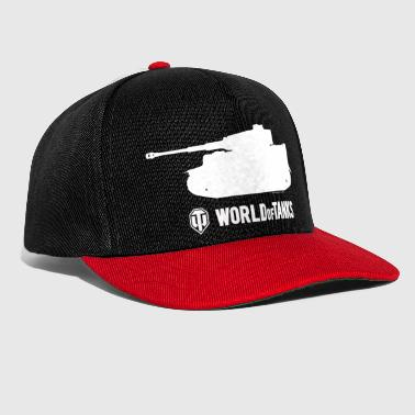 World WoT - Tiger Silhouette White - Snapback Cap