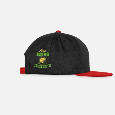 Jesus Fish Jesus Fishing - Snapback Cap