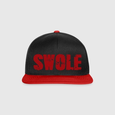 SWOLE RED - Snapback Cap