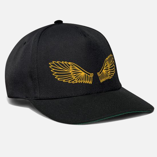 Dessin Ailes Ange Casquette Snapback Spreadshirt