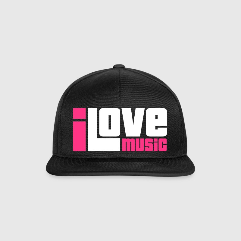I Love Music - Snapback Cap