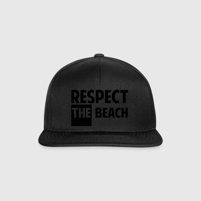 Respect the beach - Casquette snapback