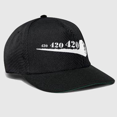 Gewricht 420 Cannabis Ganja High Weed Mary Jane - Snapback cap