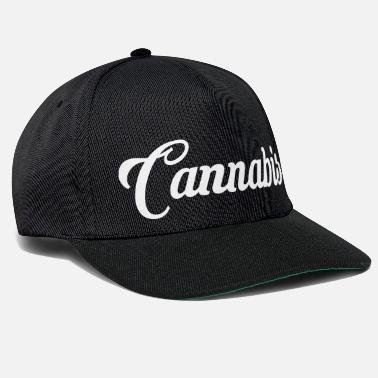 Writing cannabis-writing - Snapback cap
