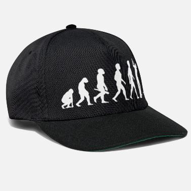 Golf Evolution Golf Golfer Golfer Terrain de golf - Casquette snapback
