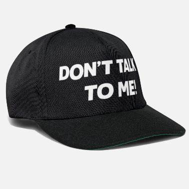 The The Masked Singer Don't talk to me! Print - Snapback Cap