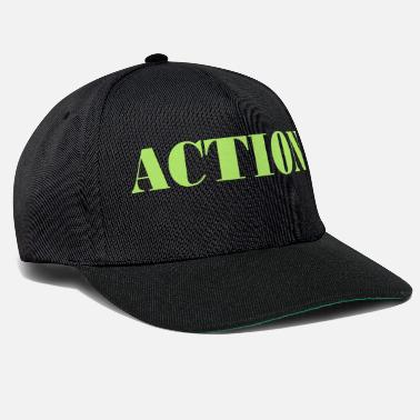 Action action - Casquette snapback