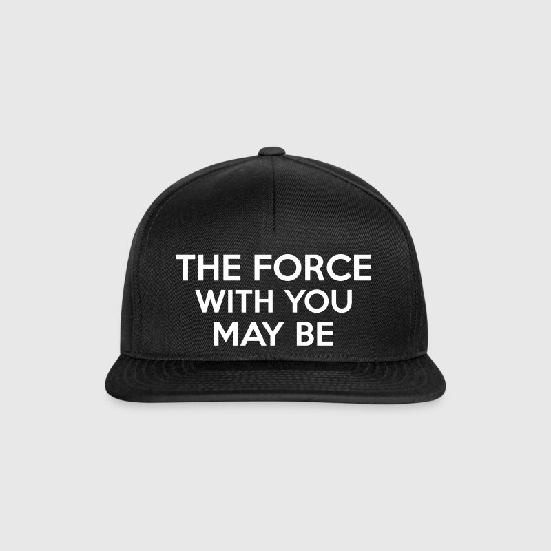 The Force With You May Be - Czapka typu snapback