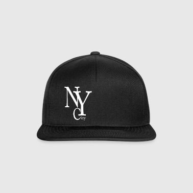 New York City blanc - Snapback Cap