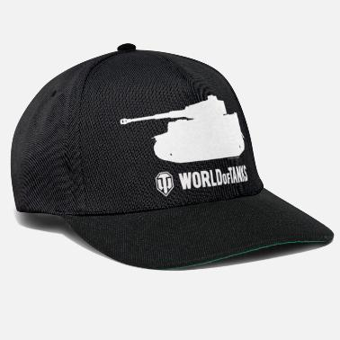 Officialbrands WoT - Tiger Silhouette White - Snapback Cap
