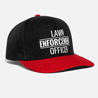 Lawn Enforcement Officer. Gardener. Love Gardening - Snapback Cap