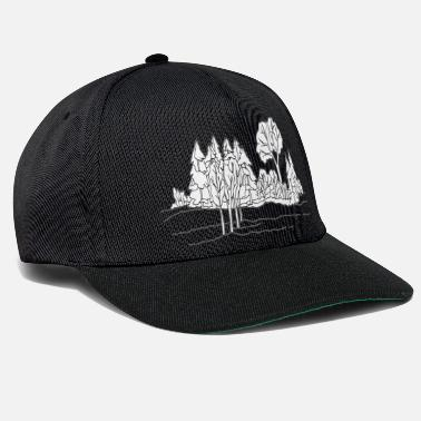 Paysage paysage - Casquette snapback