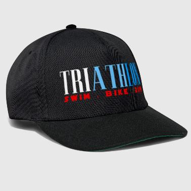 TRIATHLON - SWIN BIKE RUN - Triathlet - Snapback Cap
