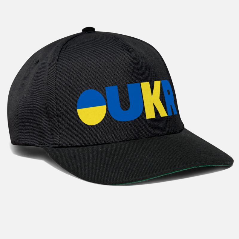 Love Caps & Hats - Ukraine - Snapback Cap black/black