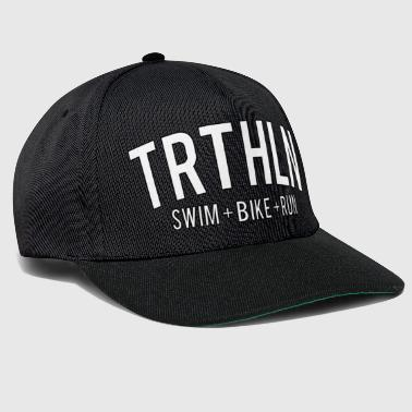Triathlon - White Edition - Snapback Cap