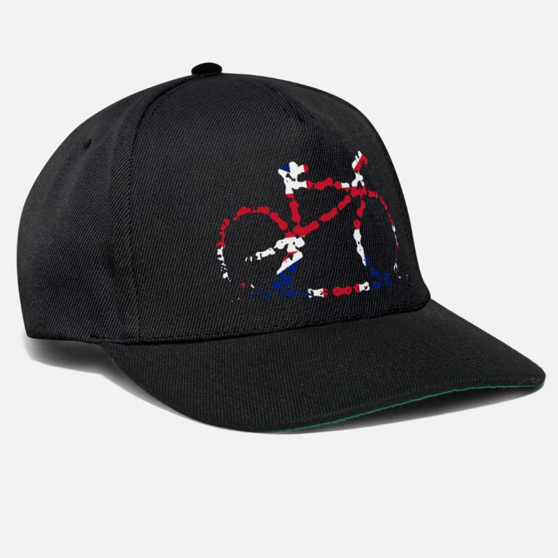 Bike Caps & Hats - GB Cycling Hat - Snapback Cap black/black
