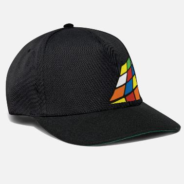 Officialbrands Melting Rubiks Cube - Snapback Cap