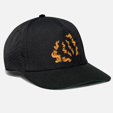 Gold dollar signs - Casquette snapback
