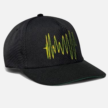 Synthesizer Boom 909 Drum Wave Caps & Hats - Snapback Cap