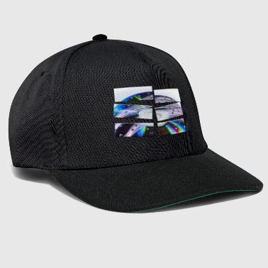 Colorful CD in 6 parts - Snapback Cap