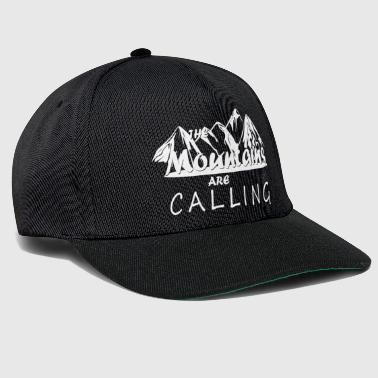 The Mountains are Calling - Wandern und Klettern - Snapback Cap