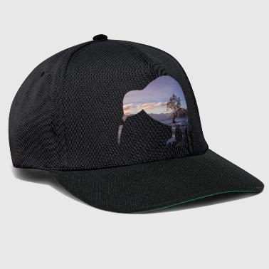 Kiwi New Zealand Backpacker Travail et voyage - Casquette snapback
